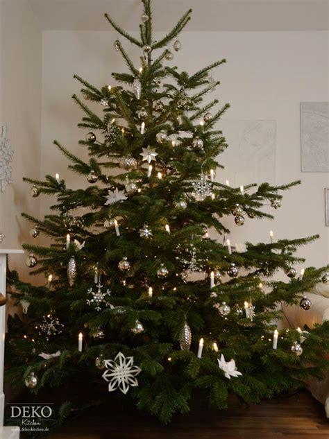 dekoidee mein weihnachtsbaum mit kristallen bl 252 ten und
