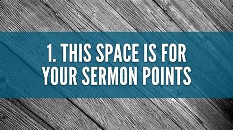Free Sermon Slide Template The Creative Pastor Free Sermon Powerpoint Templates