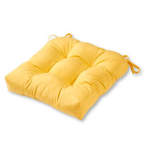 Patio Cushions Yellow Greendale Home Fashions 20 Quot Outdoor Chair Cushion