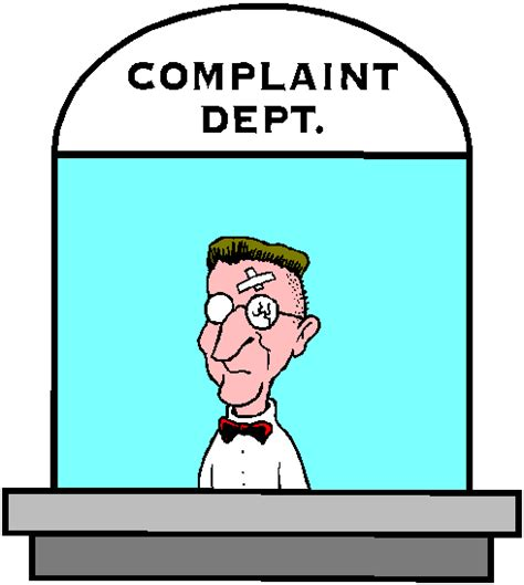 Customer Complaint Holding Letter Complaining Clipart Free Clip Free Clip On Clipart Library
