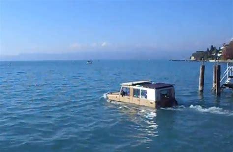 speedboot gardameer met de auto op het gardameer varen gardameer
