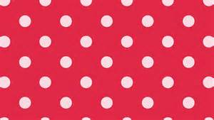 pink polka dots k on wallpaper