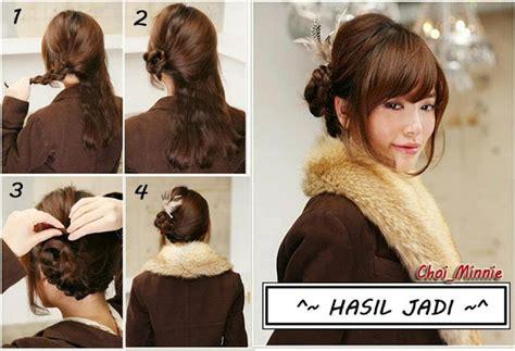 tutorial tata rambut pramugari cara cara sanggul rambut black hairstyle and haircuts