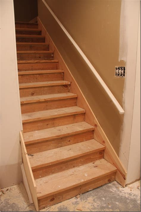 Wood Basement Stairs Design Useful Basement Stairs How To Make Basement Stairs