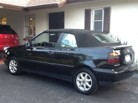 Buy Used Volkswagen by Buy Used Volkswagen Cabrio Convertible In Pompano