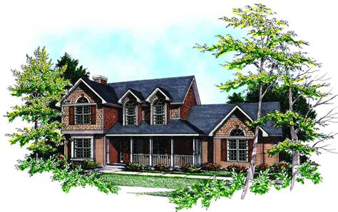 traditional two story house plans traditional two story 8934ah architectural designs house plans