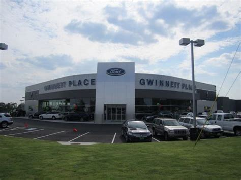 Gwinnett Place Ford car dealership in Duluth, GA 30096