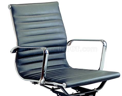 Black Comfy Chair Comfy Low Back Office Chair By J M In Black Brown Or White