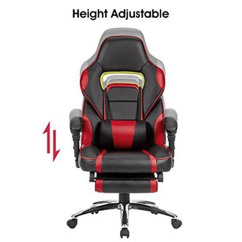 fauteuil de bureau gaming langria fauteuil de bureau racing pour gaming