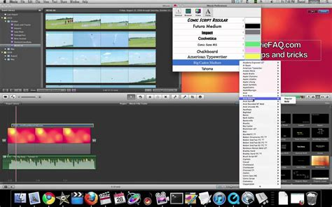 tutorial imovie 11 youtube imovie 11 tutorial working with fonts and titles part 1