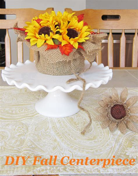 fall centerpiece diy the honeycomb home