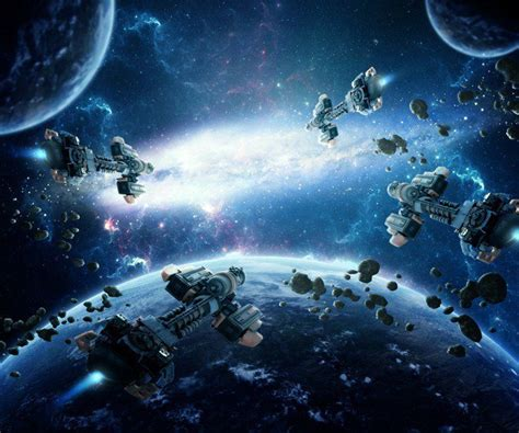 tutorial photoshop amazing how to create an amazing space battle scene in photoshop