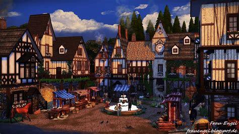 medieval sims 4 my sims 4 blog medieval bakery by frau engel
