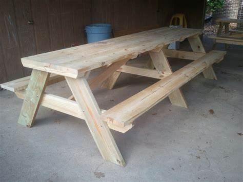 bench to picnic table plans woodworkpdfplans 6 ft picnic table plans plans free pdf