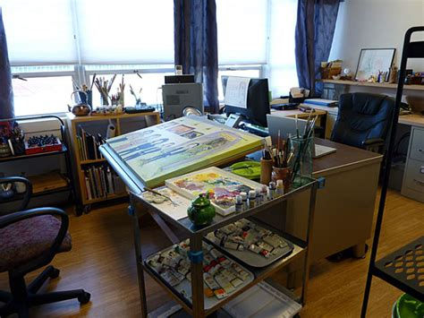 painting studio a small painting studio is cozy pamdora s box