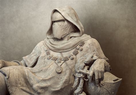 Interior Photography by Artist Turns Ancient Greek Statues Into Star Wars Characters