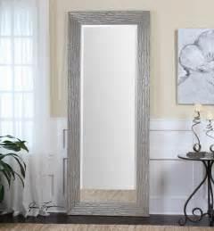 uttermost amadeus large silver mirror beyond stores