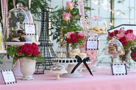 parisian themed events parties desserts in paris glorious treats