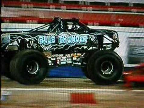 blue thunder monster truck videos blue thunder monster truck youtube