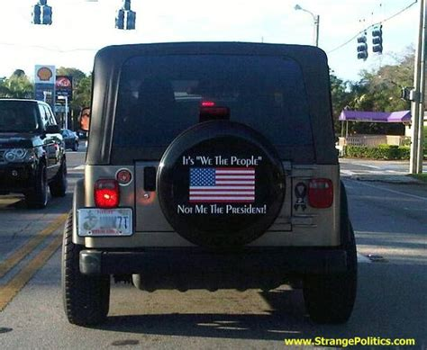 hey obama    people cool jeep spare tire