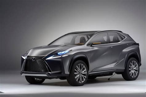 lexus lf nx lexus lf nx compact crossover concept previews production