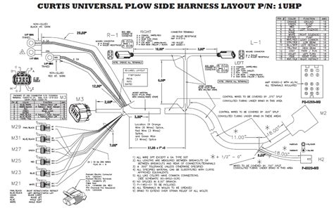 arctic snow plow wiring diagram western plow wiring diagram 11 pn 33 wiring diagram