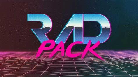 Design App Logo rad pack 80 s themed hd wallpapers nate wren graphic