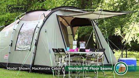 coleman mackenzie cabin 6 coleman 174 mackenzie cabin 6 premium family cing tent