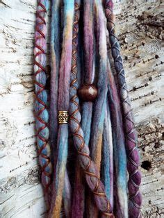 dreadlock wrapped around extensions for sale 10 custom standard clip in synthetic dreadlock extensions