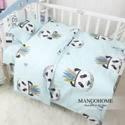 3pcs set new design baby bedding set crib cotton bedding