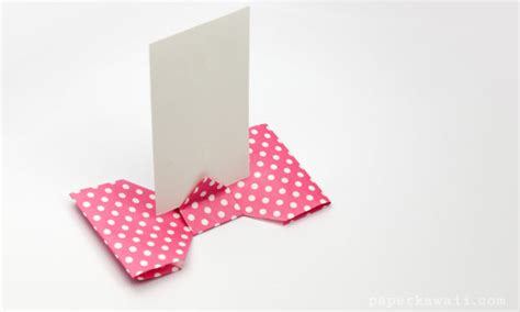 Origami Picture Stand - how to do origami page 1 paper kawaii