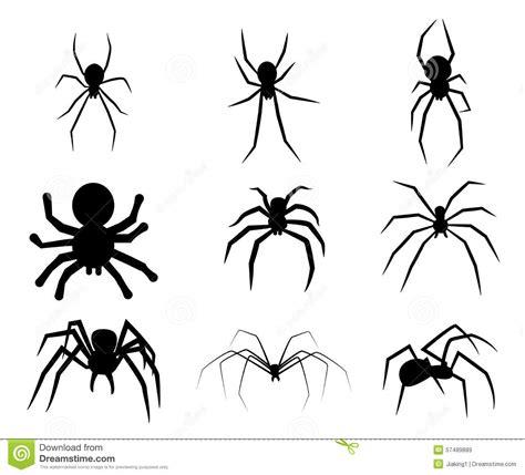 het gevaar van zwarte henna reeks het zwarte pictogram de silhouetspin vector