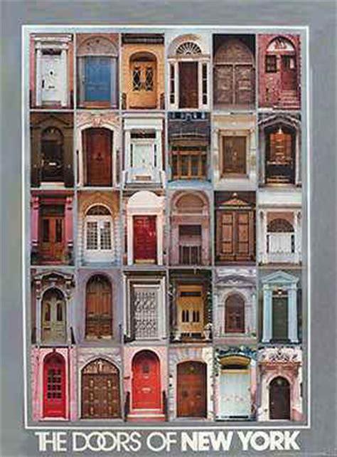 The Door Nyc by Doors Of New York City Downtown Landmarks Prints Poster