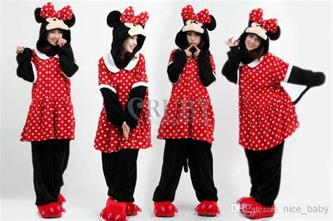 Minnie Mouse Piyama minnie mouse animal onesies onesie unisex kigurumi costumes pyjamas pajamas kid