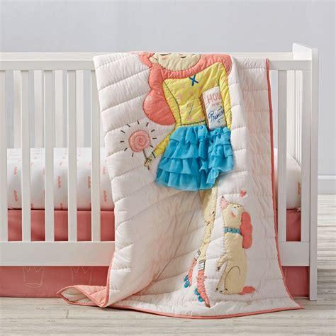 chagne bedding sets girls crib bedding sets the land of nod