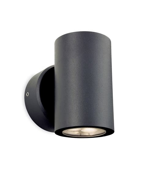 up and exterior lights led graphite exterior wall light