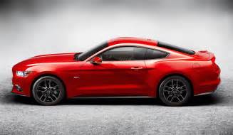 2015 ford mustang specs revealed gt gets 435 horsepower