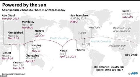 New York Solar Map by Solar Impulse 2 Completes Arizona To Oklahoma Leg Of Round