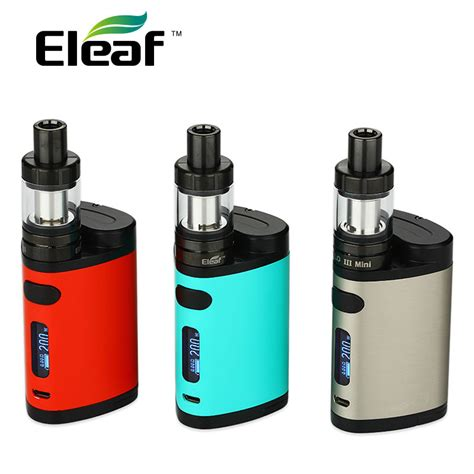 20s Dual Orginal original eleaf pico dual tc kit 200w w pico dual box mod
