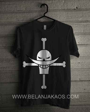 Kaos One One 10 one shirohige whitebeard on10 baju kaos distro