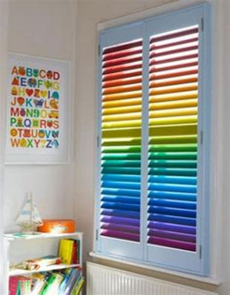 cool window blinds ideas with wooden venetian large slats cherry 9 creative window blinds designs