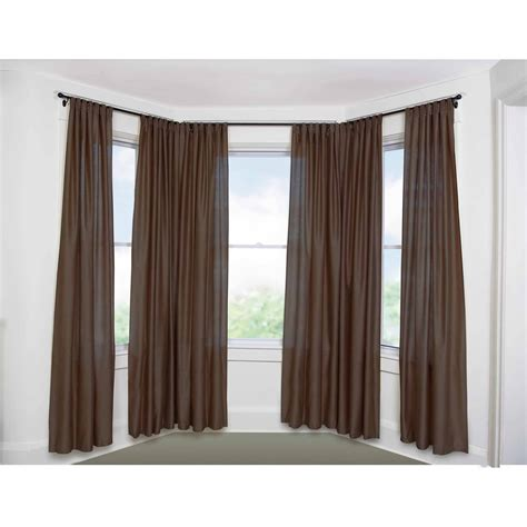 curtain rods for windows curtains bay windows pictures curtain menzilperde net