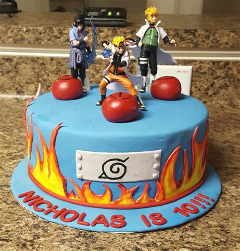 Naruto Cake Cakecentral M