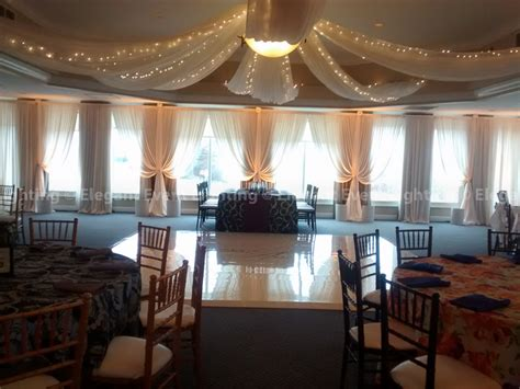 ceiling drapes with fairy lights 4 ways to incorporate fairy lights into your wedding