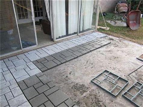 Patio Block Molds european block concrete form walk maker by quikrete 6921