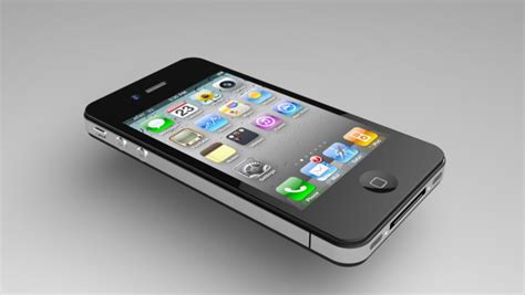 Point 3d 3d Model Of Iphone 4 by Apple Iphone 4 3d Cad Model Library Grabcad