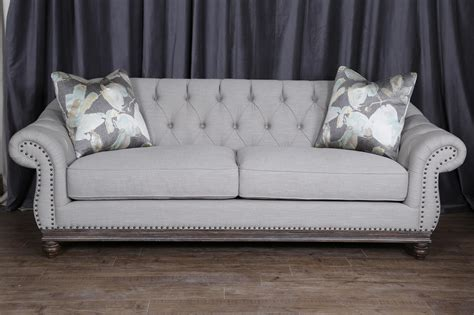 gray sofa with nailhead trim gray nailhead sofa gray sofa with nailhead trim 84