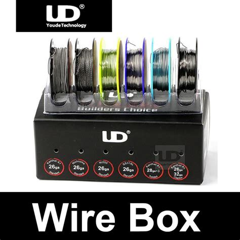 Ud Builders Choice Authentic Best For Vaporizer Wire Diy ud wire box builders choice original authentic youde wire box resistance wire heating wire