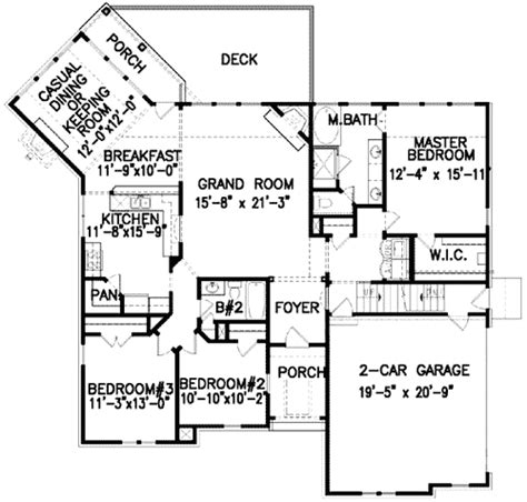 house plans with keeping rooms angled keeping room 15746ge 1st floor master suite