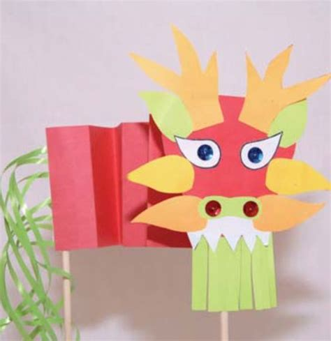 new year kite craft free puppet template for a new year craft